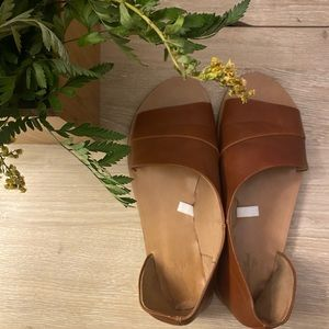 3/$25 Universal Thread Faux Leather Sandals